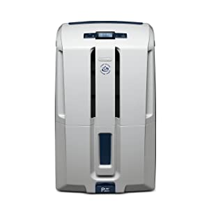 DeLonghi Energy Star 45 Pint Dehumidifier White
