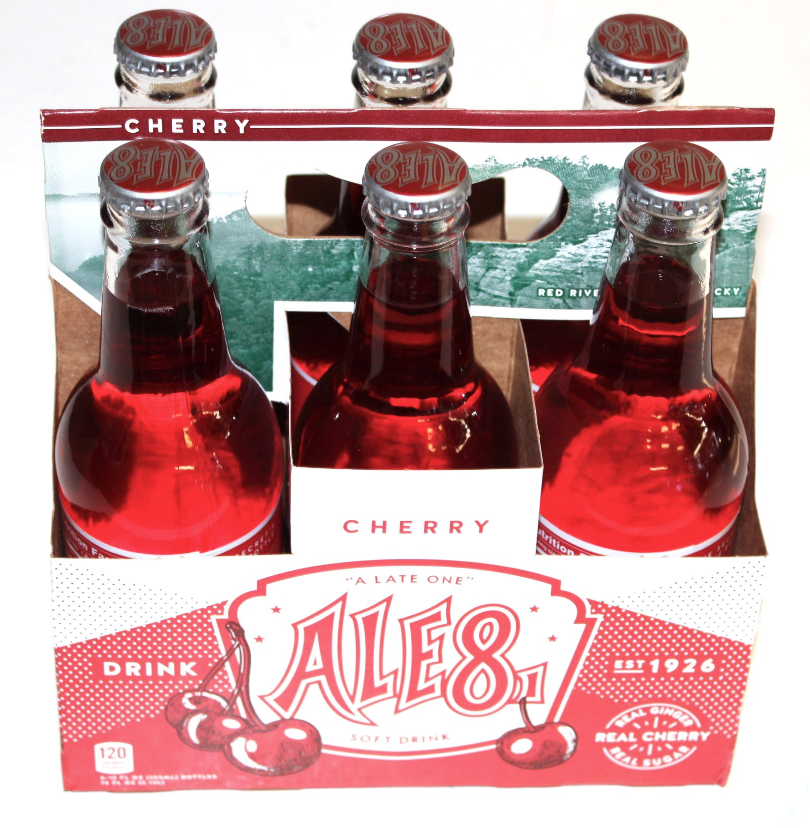 Ale 8 One Special Edition Cherry, 12 ounces (6 Glass Bottles)