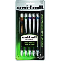 uni-ball Jetstream RT BLX Infusion Ballpoint Pens, Bold Point (1.0mm), Assorted Colors, 5 Count
