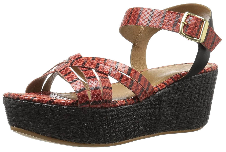 Callisto Women's Valencia Platform Sandal B01L0R0ZQ0 6 B(M) US Red