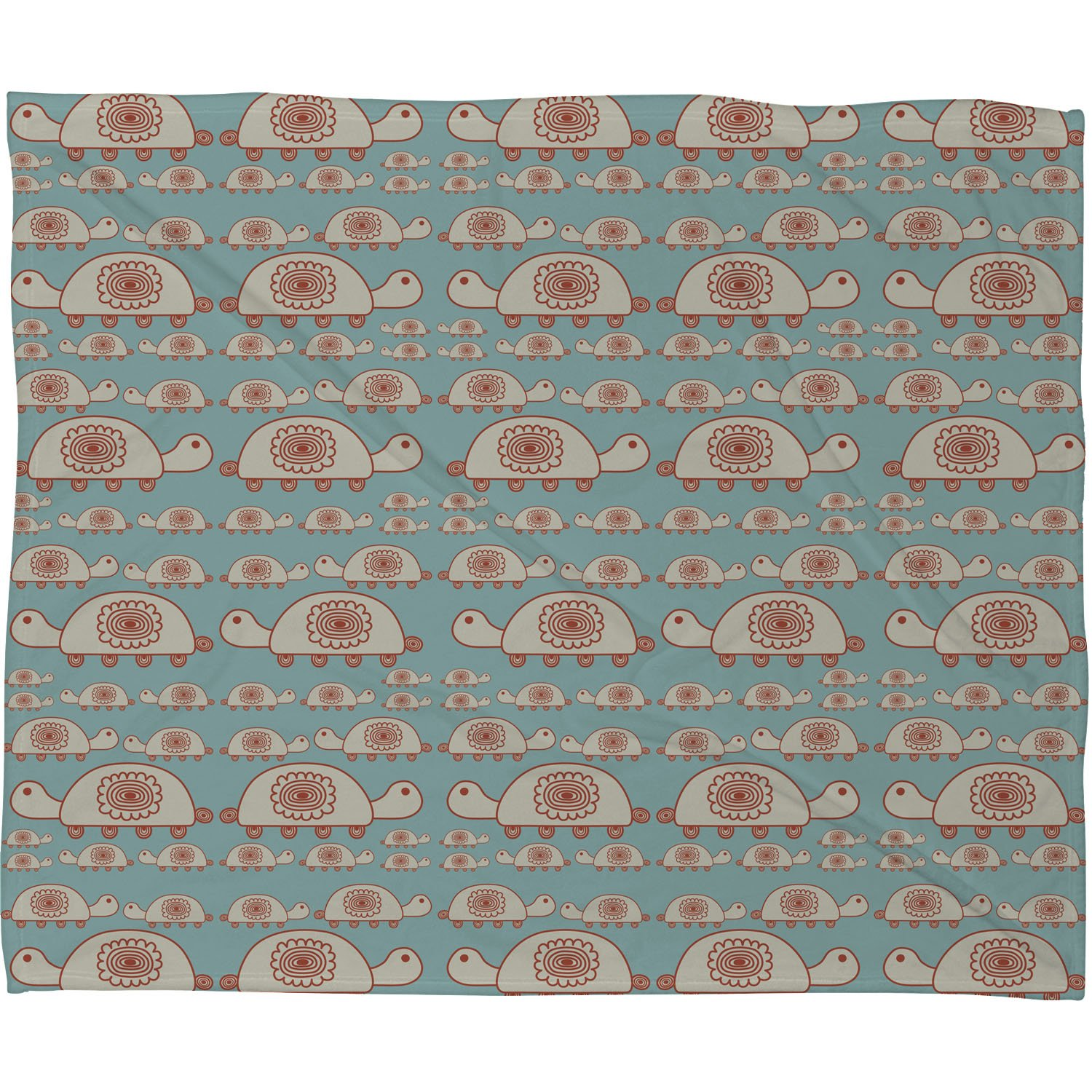 Deny Designs Gabriela Larios Tortuguero Dos Fleece Throw Blanket 50 x 60