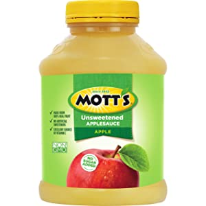 Mott's Unsweetened Applesauce, 46 Ounce Jar