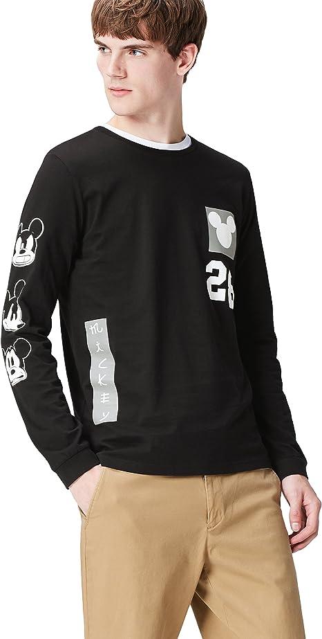 Marca Amazon - find. Camiseta Mickey Mouse para Hombre: Amazon.es ...