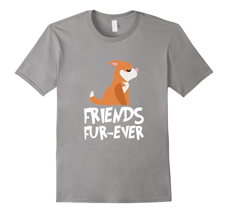 American Pit Bull Terrier Friends FUR-Ever T-Shirt-Art