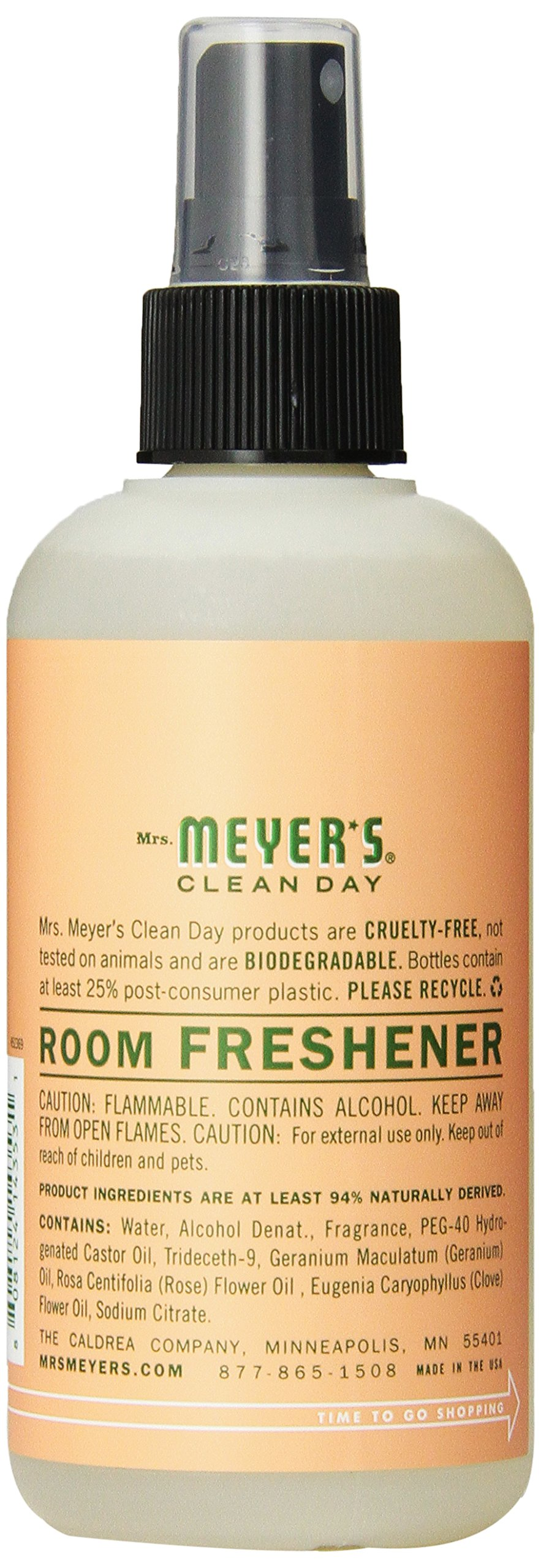Mrs. Meyer's Geranium Room Freshener, 8-Fluid Ounce Bottles (Pack of 6) by Mrs. Meyer's Clean Day (Image #3)