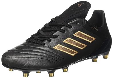Adidas Copa 17.1 FG, para los Zapatos de Entrenamiento de Fútbol para Hombre, Negro(Negbas/Cobmet/Negbas), 44 EU