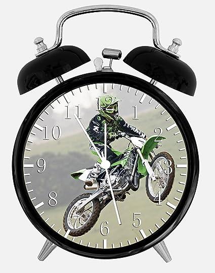 Amazon.com: Motor Cross Alarm Desk Clock 3.75