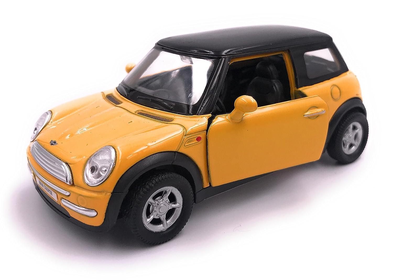 H-Customs Welly Mini Cooper Modellauto Miniatur Auto Lizenzprodukt 1:34 zufä llige Farbauswahl hcmminiblister