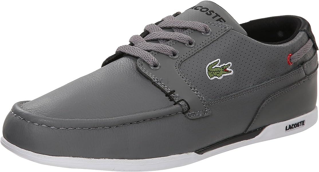 010640596b0 Lacoste Dreyfus (Men) Fashion Sneaker Grey Black 7 M US