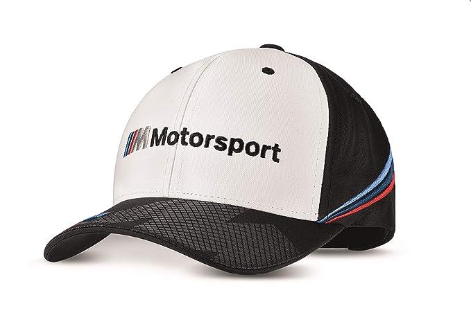 BMW Genuine Unisex M Motorsport Logo Adjustable Strap Classic Shape Fan Cap