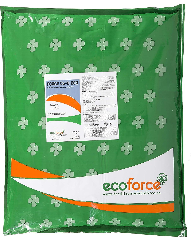 CULTIVERS Force Ca+B Eco. Corrector de Calcio y Boro ecológico hidrosoluble para Mejorar la firmeza, el cuajado de Frutos y los Problemas de rajado (5 Kg)