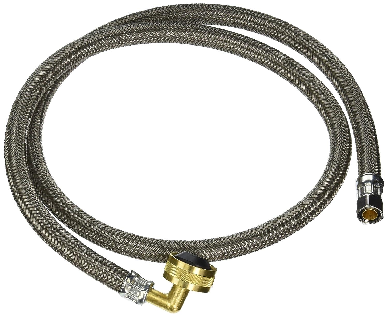 Brasscraft b1 – 48dw1b 3 / 8外径by 3 / 4 by 48 – インチ食器洗い機コネクタ、ホワイト   B00527FV5K
