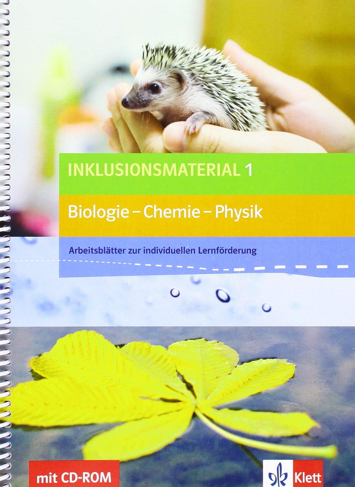 Inklusionsmaterial Biologie - Chemie - Physik / Arbeitsblätter zur ...