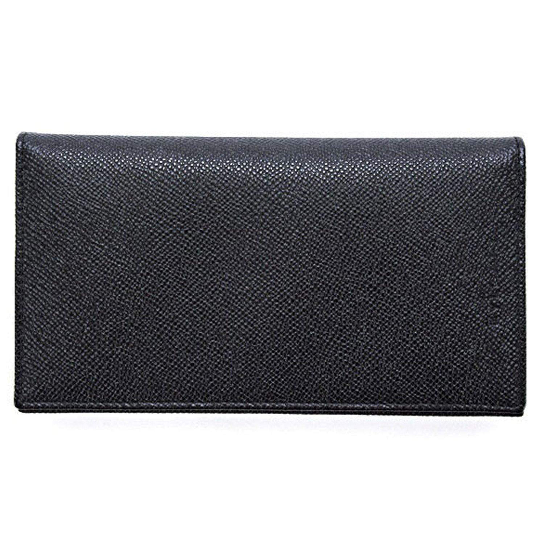ブルガリ BVLGARI 財布 長財布 メンズ クラッシコ CLASSICO クラシコ レザー 革 ブラック(黒) 紳士 グレインレザー 25752 BLACK B00Q4JJDUO