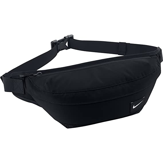 9a73518fea29 Nike Waistpack Men s Hood Waist Pack Bum Bag-Black Silver