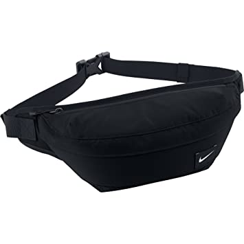 207f2b51b9 Nike Waistpack Men's Hood Waist Pack Bum Bag-Black/Silver, One Size ...