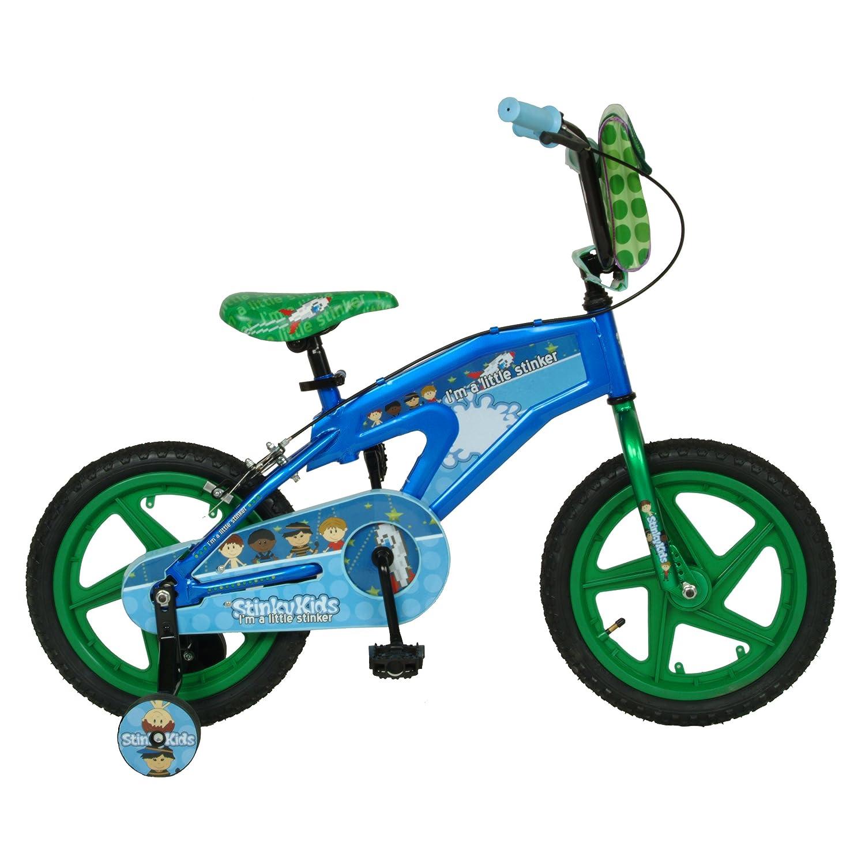 Amazon.com : StinkyKids Trouble-Maker Kid\'s Bike, 16 inch Wheels, 11 ...