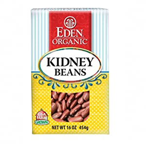 Eden Organic Kidney Beans, 16-Ounce Boxes (Pack of 6)
