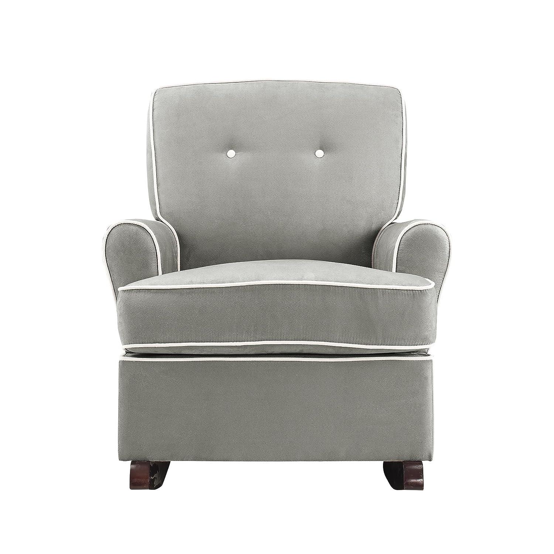 Amazon Baby Relax Tinsley Nursery Rocker Chair Gray Kitchen – Chair Nursery