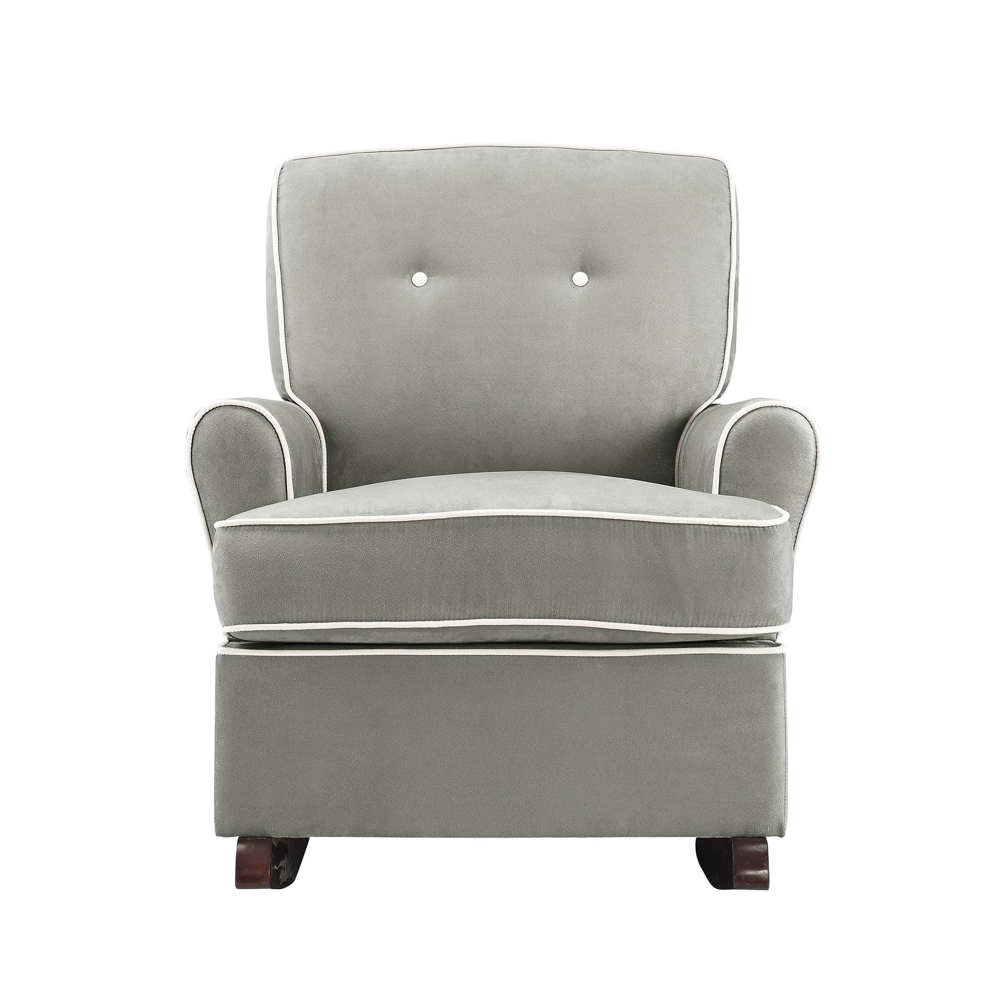 Baby Relax Tinsley Nursery Rocker Chair, Gray by Baby Relax