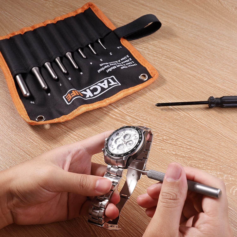 Splinttreiber Satz TACKLIFE 9-teilig Durchschlag Werkzeugset PP01 Handwerk und Schmuck mit Tragetasche Automotive Reparaturen f/ür Pistole