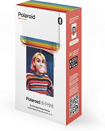 Polaroid Polaroid Hi-Print 2x3 Pocket Photo Bluetooth Printer Blanco 9046