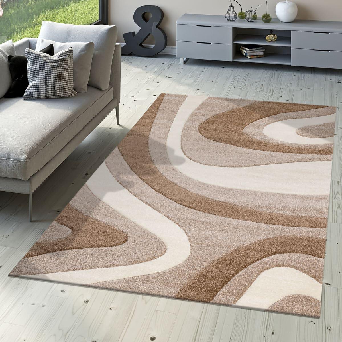 Tappeti 80 x 150 cm T&T Design Morbido tappeto moderno a ...