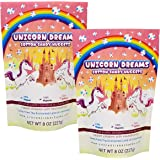 Bag of Unicorn Dreams 2 Pack Cotton Candy Nuggets Half Pound Each Of Funny for All Ages Unique Birthday for Friends, Mom…