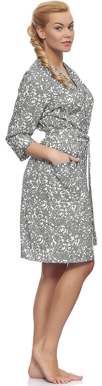 Italian Fashion IF Albornoz para Mujer Maya (Gris, S): Amazon.es: Ropa y accesorios