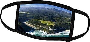 3dRose Danita Delimont - Rivers - Keurbooms River, Garden Route, Western Cape, South Africa. - Face Masks (fm_209645_1)