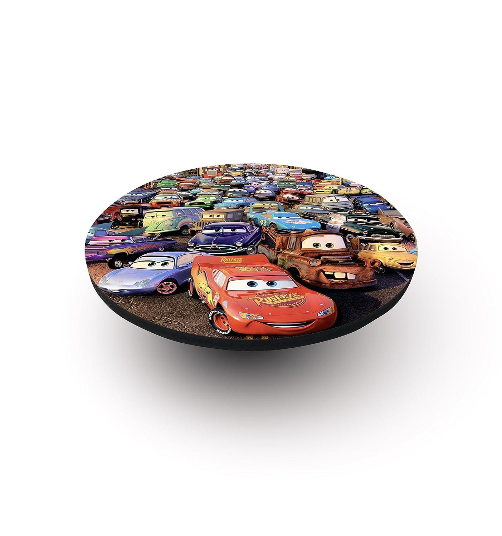 Posavasos De Corcho Con Personajes De Cars Disney Pixar Para Ninos