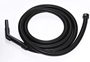 All Parts Etc Vacuum Hose for Craftsman Shop Vac Accessories, 15' Crush Proof Replacement Hose for Wet Dry Craftsman Shop Vac Hose, Compatible with Craftsman Shop Vac Attachments 2.5 Inch Machine End