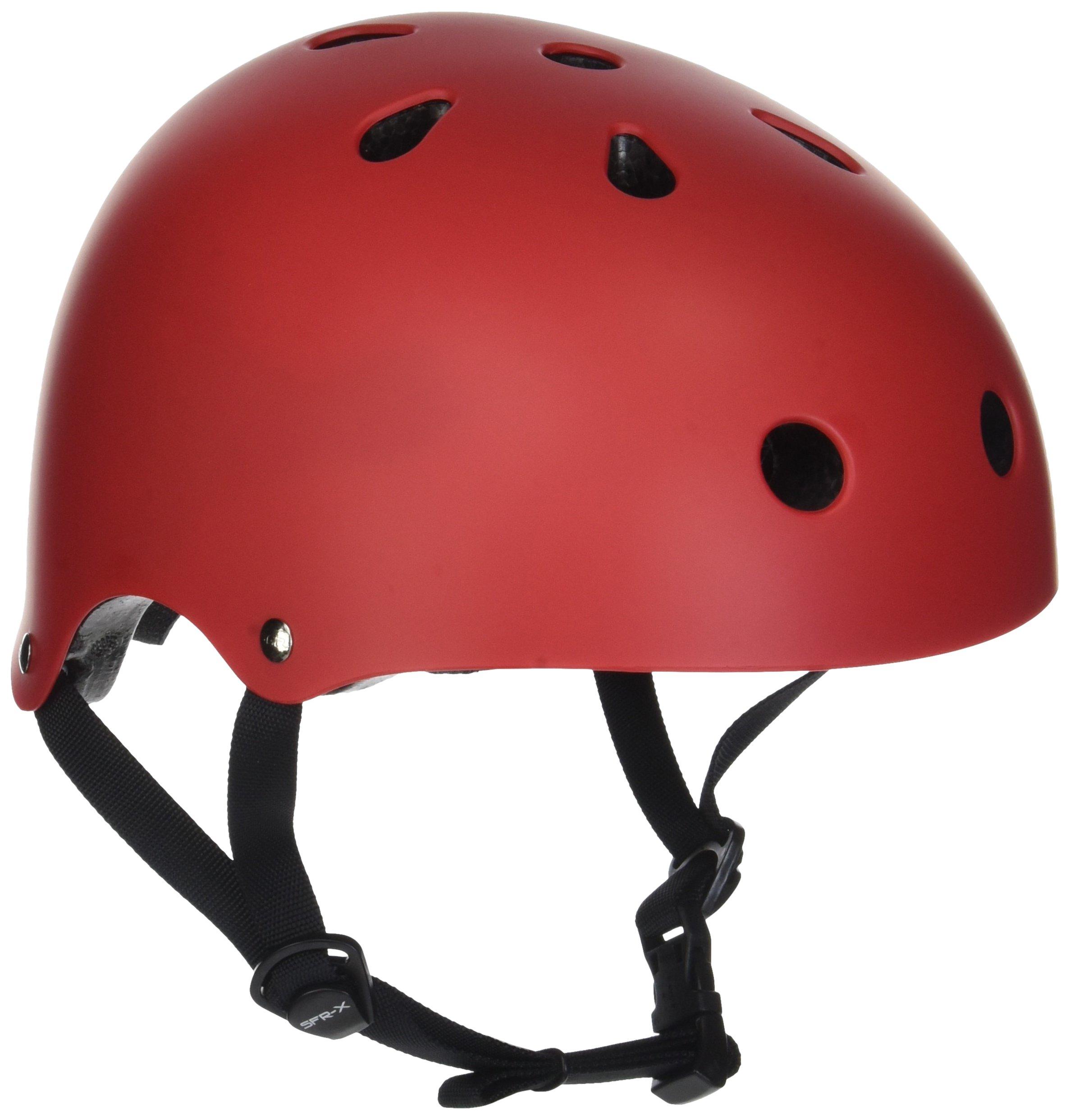SFR Essentials Skateboard Bmx Helmet Metallic Blue
