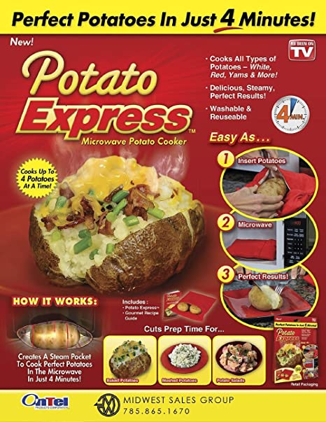 Potato Express Microwave Bag