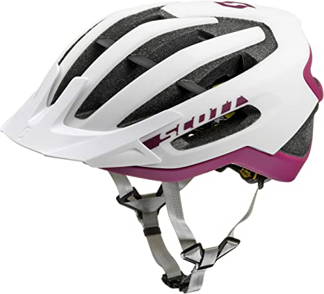 Scott bici Casco fuga plus (ce) white/purple m: Amazon.es: Deportes ...