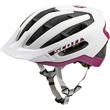 Scott bici Casco fuga plus (ce) white/purple m