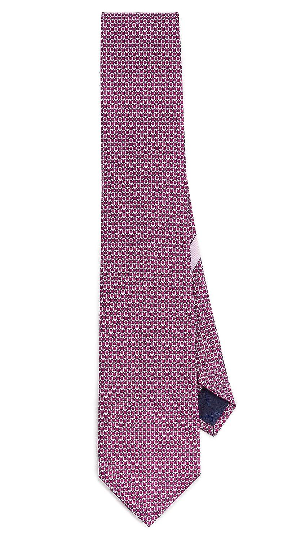 Salvatore Ferragamo Men's Energia Tie Magenta One Size Salvatore Ferragamo-Men's