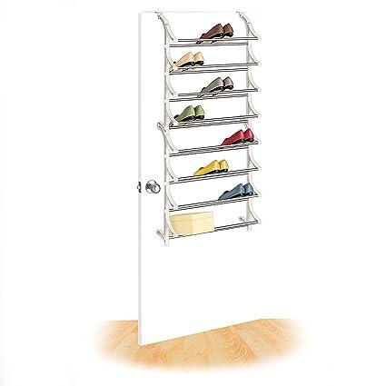 Lynk 24 Pair Over Door Shoe Rack