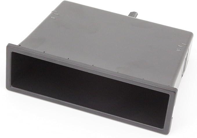 Universal 1 DIN coche caja de almacenamiento de vacío de ranura para radio de montaje: Amazon.es: Electrónica