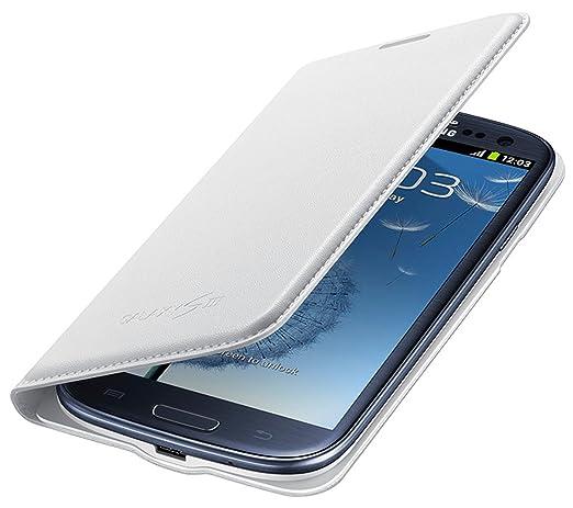 164 opinioni per Samsung EF-NI930BWEGWW Flip Wallet per Galaxy S3, Bianco
