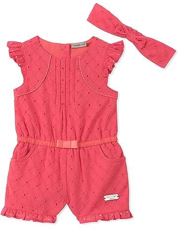 19d71c778293 Calvin Klein Baby Girls Romper Set