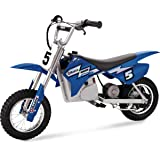"Razor MX350 Dirt Rocket Electric Motocross Off-road Bike for Age 13+, Up to 30 Minutes Continuous Ride Time, 12"" Air…"