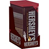 HERSHEY'S SPECIAL DARK Chocolate Extra Large Candy Bars with Almonds, 4 oz. Bars, (Pack of 12)