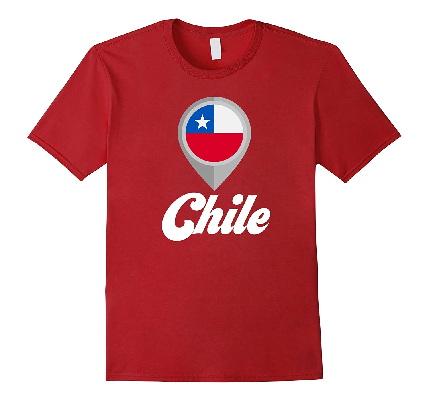 Chile T-shirt Chile Flag Tee I Love Chile Travel Shirt-Vaci