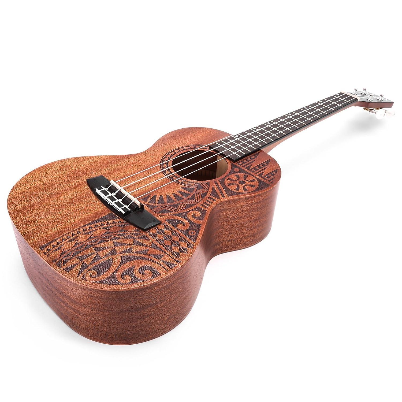 mila guitars uke tenor tatau mahogany series tenor
