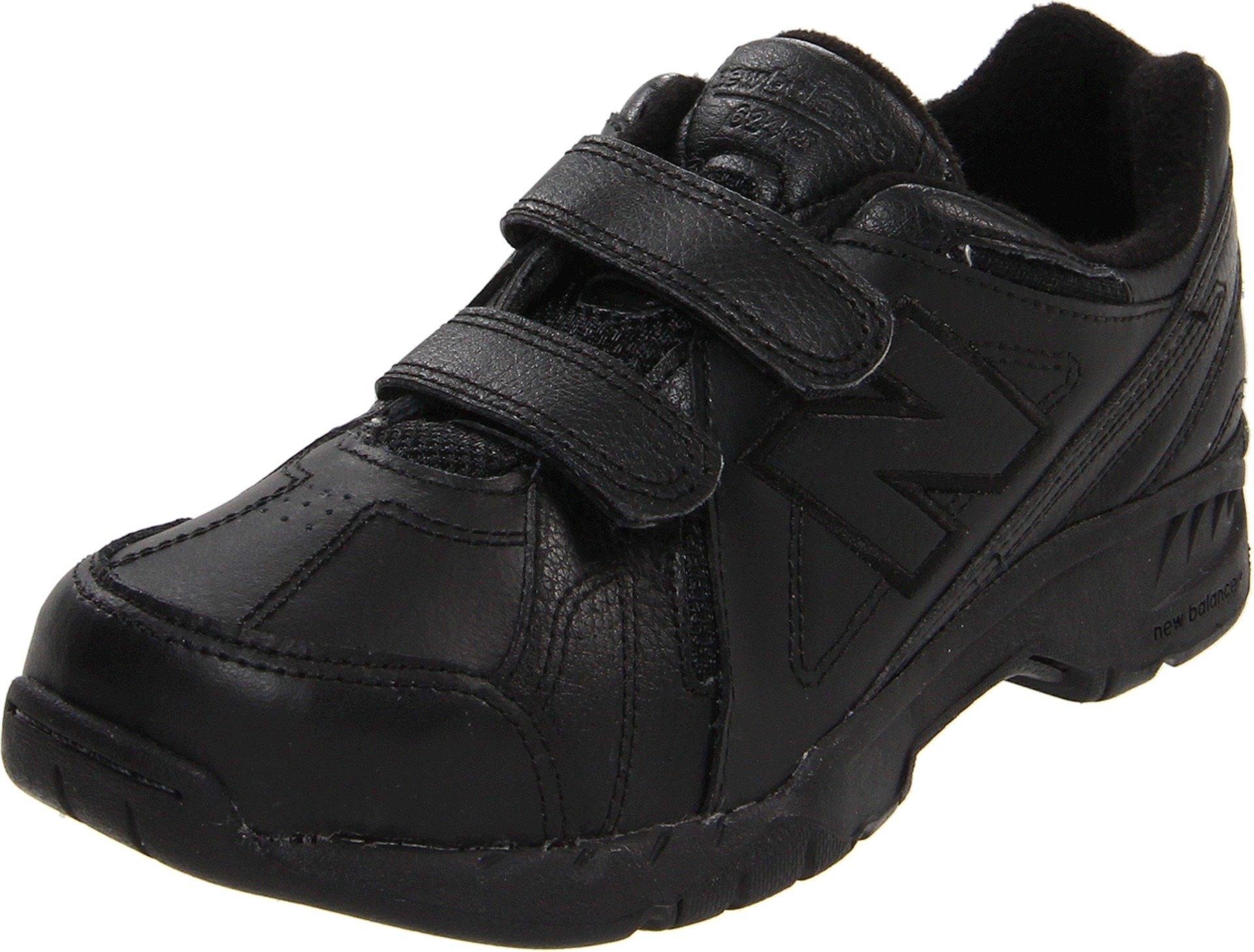 New Balance Kid's 624 V1 Running Shoe, Black, 13 M US Little Kid