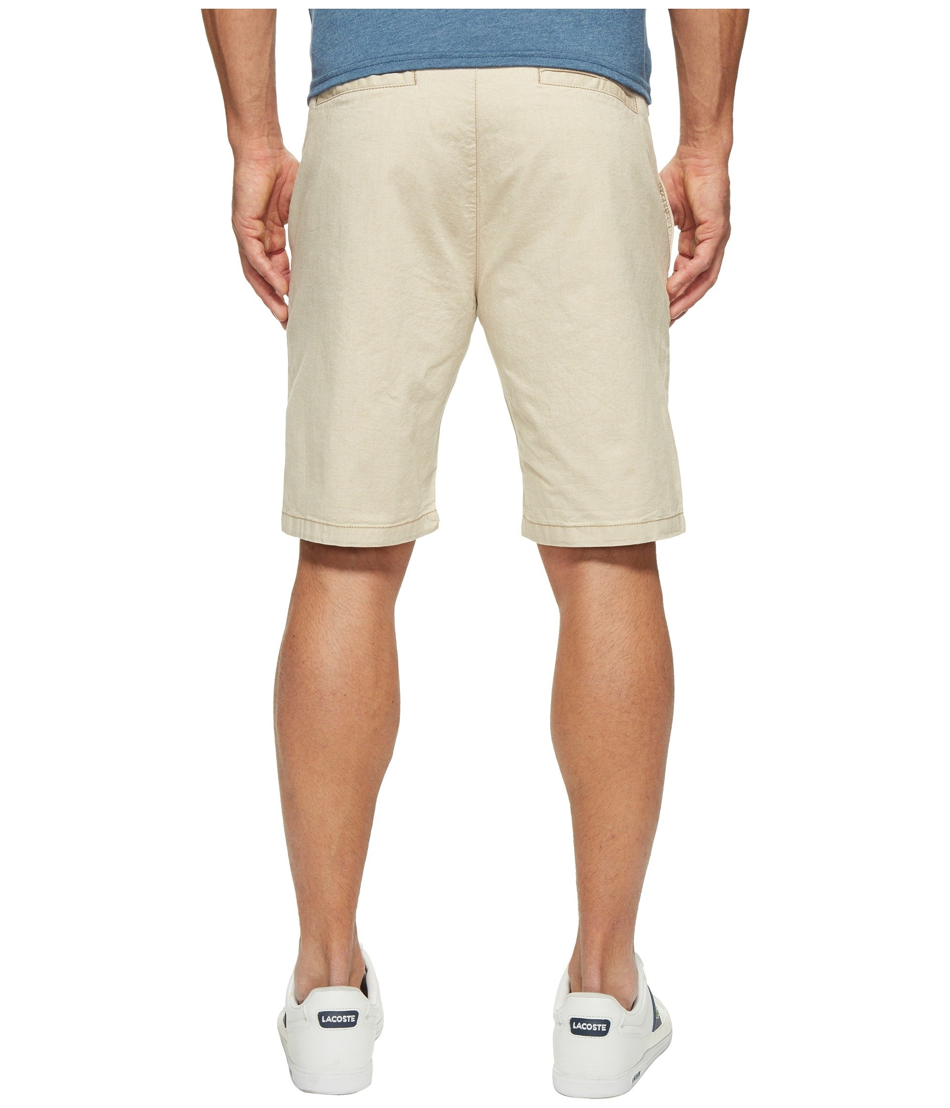 34 Heritage Men's Nevada in Beige Dot Twill Beige Dot Twill Shorts by 34 Heritage (Image #2)