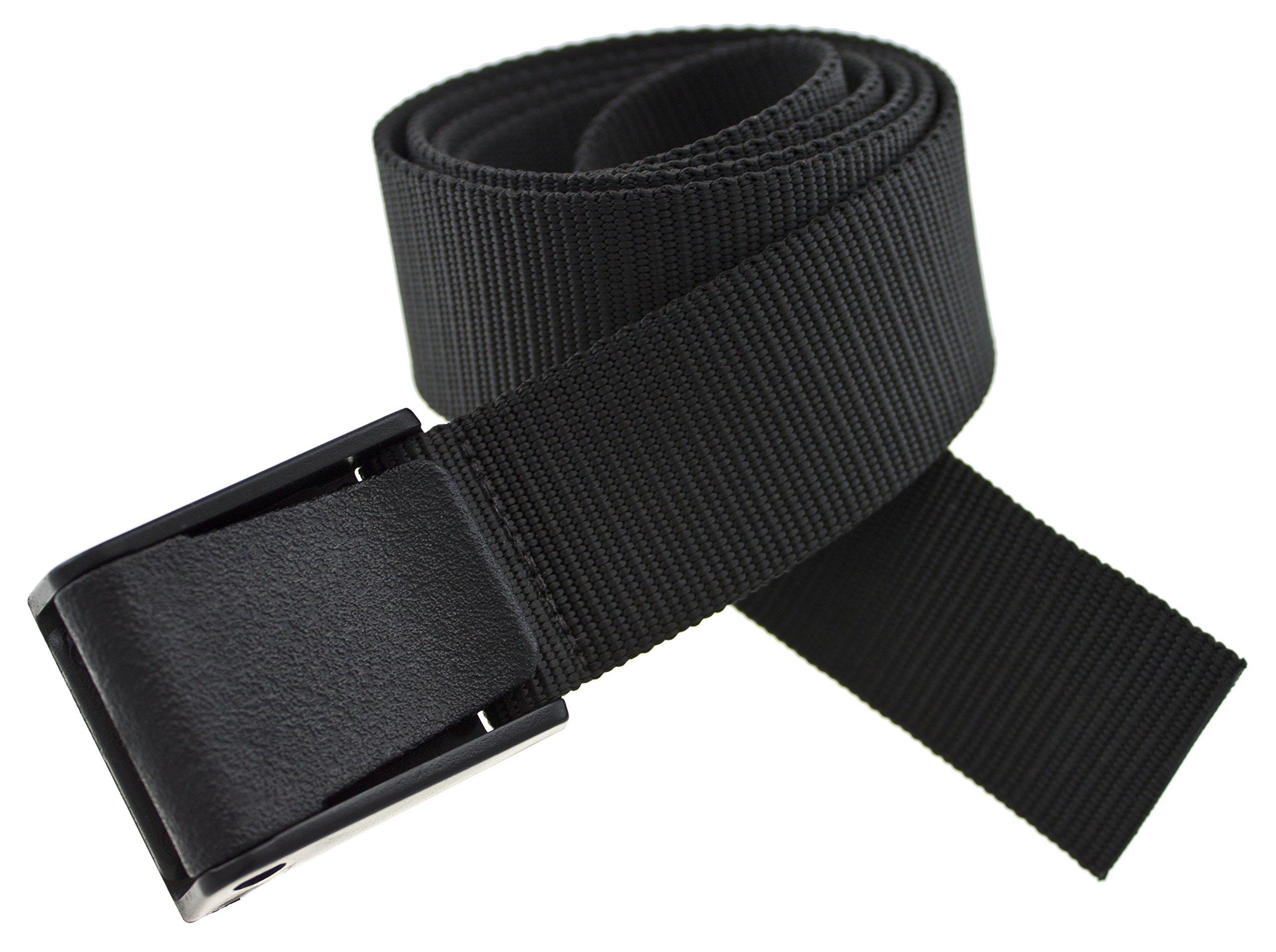 Titan Web Belt Made in USA by Thomas Bates (Black)
