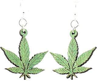 product image for Hemp Leaf Earrings