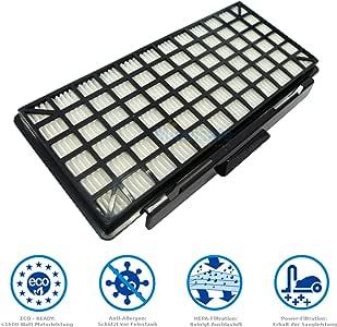 Filtro Hepa para aspiradora Bosch BSGL5ZOO2 Zoo o ProAnimal GL50 ...